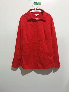 Gap Red Long Sleeves