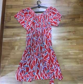 Vintage off-shoulder Dress
