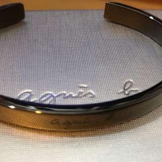 Agnes b Men's bracelet 99%new