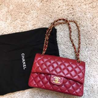 Chanel flap bag 23cm