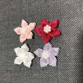 New arrivals Sewn on flowers. Delivery by mail. Ea $0.40