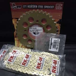 RK-M Takasago Chain & Sprocket