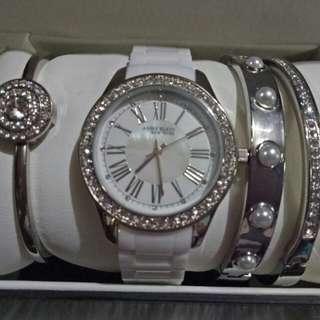 Set  of  Anne  Klein  Watch  and  Bracelet