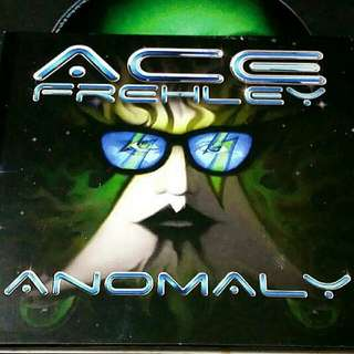 Ace frehley (anomaly) cd ex-kiss guitarist # rock