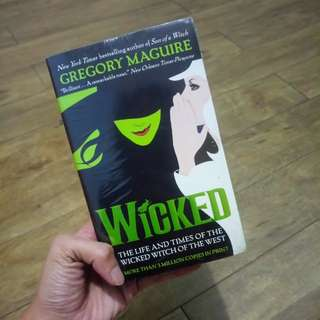Wicked paperback book BRAND NEW