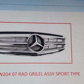 Benz c204 grille