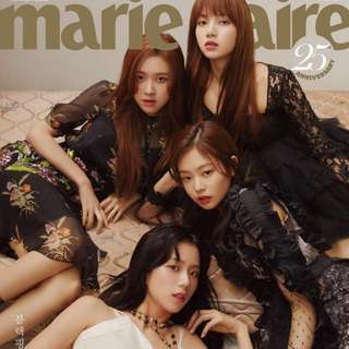 Quick preorder >> Official Blackpink MARIE CLAIRE BLACK PINK MARCH 2018 issue magazine