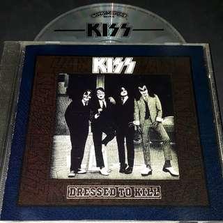 kiss (dressed to kill) cd rock