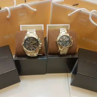 Brandnew Authentic MK Couple Watch (Pawnable)