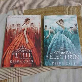 The Elite and The Selection books by Kiera Cass