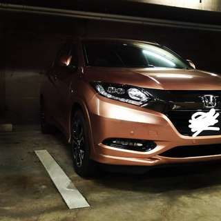 Honda Vezel Hybrid with BlackVue Front Dash Cam, 1.8A, 2 Months Old, Grab Driver (only) to take over by end February