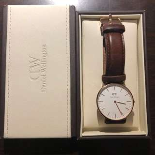 Daniel Wellington 36mm classic St. Mawes -Rose gold