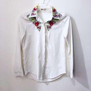 日本買 古著刺繡襯衫