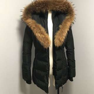 Authentic Mackage Adali winter coat SMALL in blacm