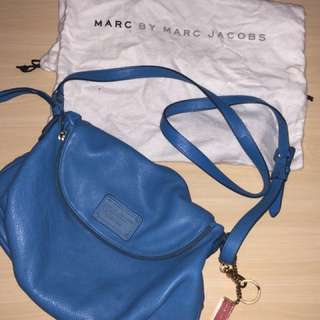 Marc Jacobs Sling Bag with keychain