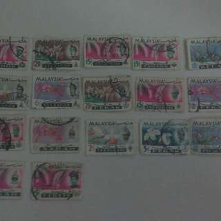 Old Malaysia stamps