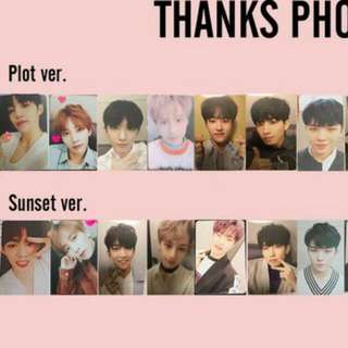 Pre-Order SEVENTEEN Thanks Official Photocards