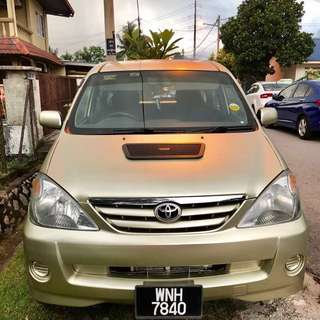 Toyota Avanza 1.3 (M)