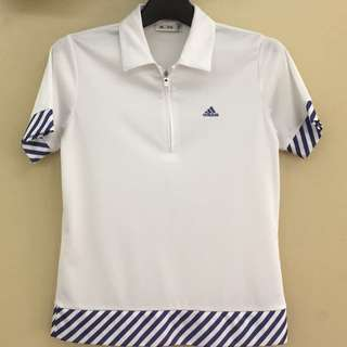 ADIDAS TOPS SPORTS COLLAR JERSEY BAJU S/S