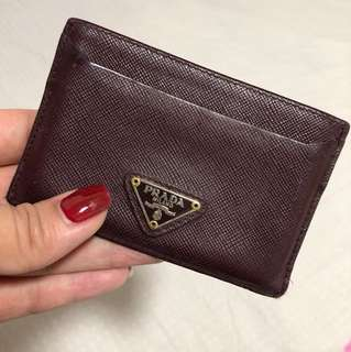 [五成新]Prada Card Case / Card Holder