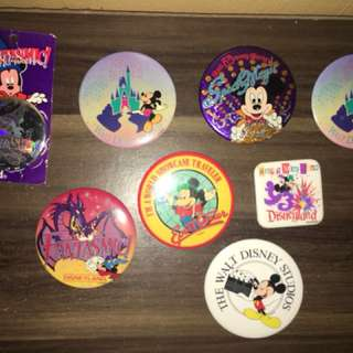 Mickey mouse Buttons collectables