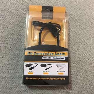 Kabel HDMI free kabel jack