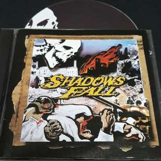 shadows fall (the fallout from the war) cd metal