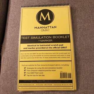 Manhattan GMAT Simulation Booklet