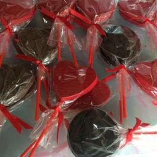Valentine's choco lollipop