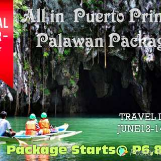 PUERTO PRINCESA All in Packages for june12-14 2018