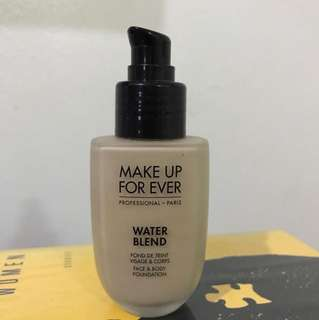 REPRICED!!!Make Up Forever Water Blend Foundation