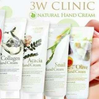 3w Clinic Moisturizing Hand Cream
