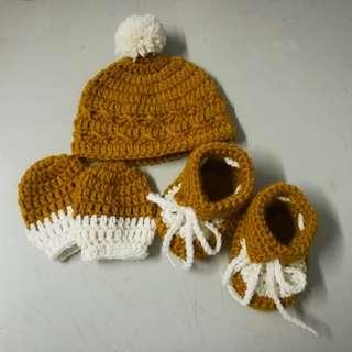 Crochet Baby Boy Apparel