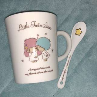 Little Twin Stars Pocelain Mug