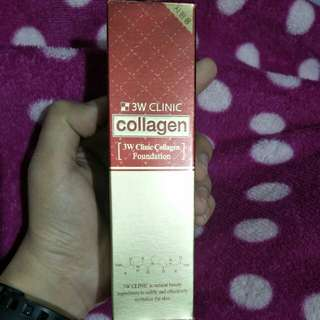 3W CLINIC COLLAGEN FOUNDATION