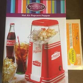 Coca Cola 可口可樂限量版爆谷機(外國購入)
