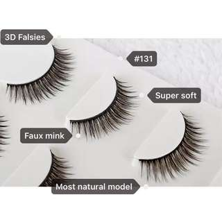 3D Faux Mink Eyelashes (#131 CS)