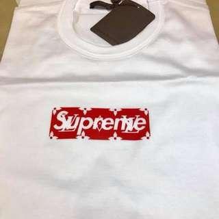 LV x Supreme Box Logo Tee Size L