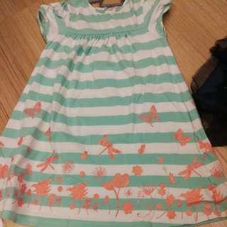 Poney kids girl dress 4-5y