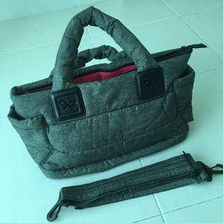 (Pre-Loved) Cipu CT-Bag Grey / Diapers Bag / Mommy Tote