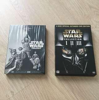 Star Wars DVD collection
