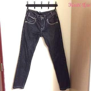 LEVI'S 519冠希代言牛仔褲(灰黑色29腰)
