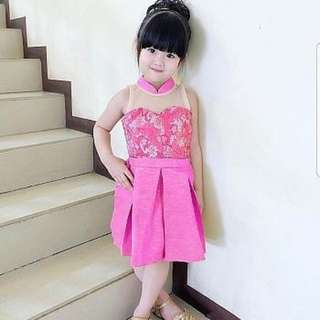 Pretty pinky girl Rp60.000 Twiscone mix brukat mix tile fit 4th blkg sleting. Redi jkt