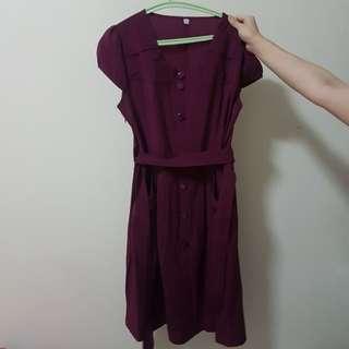 purple dress size XXL