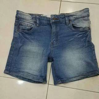 Denim Short Pants Free by Cotton On