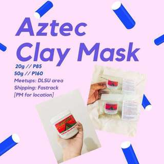 Aztec Healing Clay ( 20g and 50g )