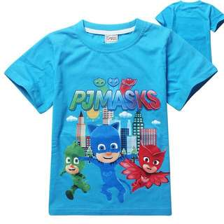 3 Colours - PJ Masks T-Shirts