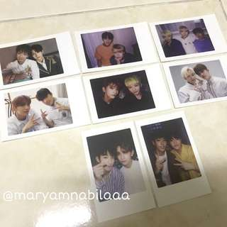 SVT OFFICIAL DE PHOTOCARD SET
