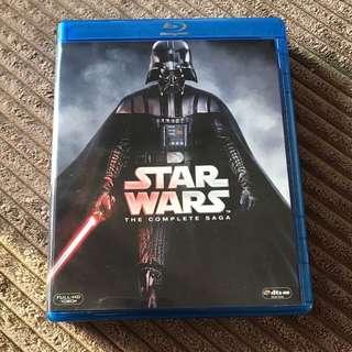 星際大戰全系列套裝黑武士版(9碟裝) (藍光BD) Star Wars Complete Saga