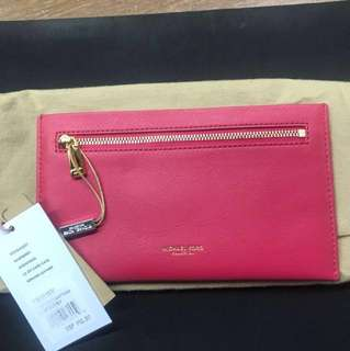 Michael Kors Large Zip Card Case/ Clutch